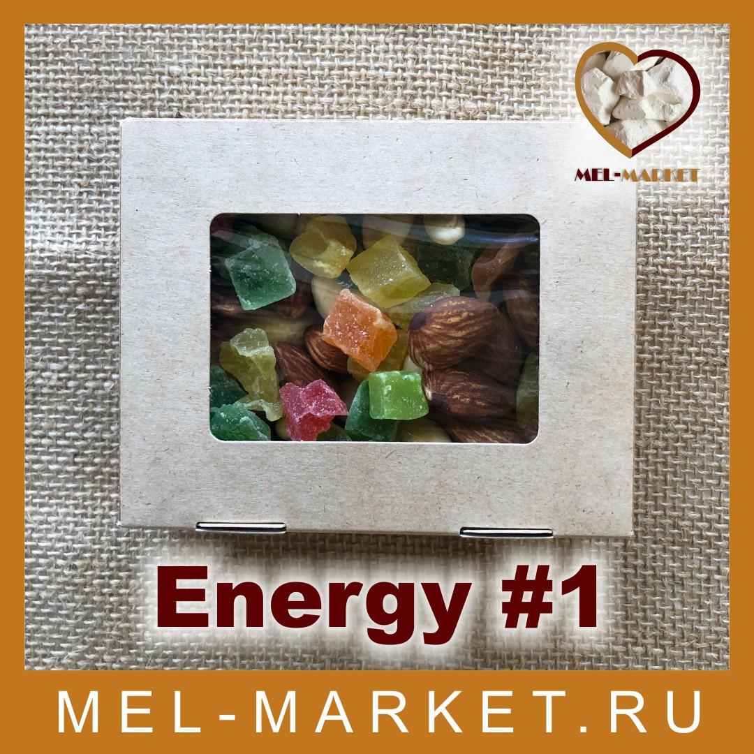 Energy #1 (микс орехов и сухофруктов)